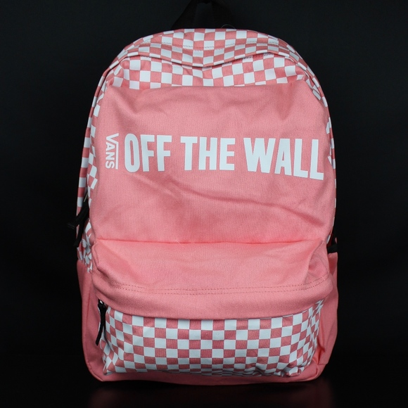 VANS Strawberry Pink Central Realm Backpack